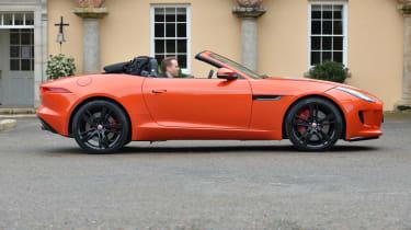 Jaguar F-Type long termer static