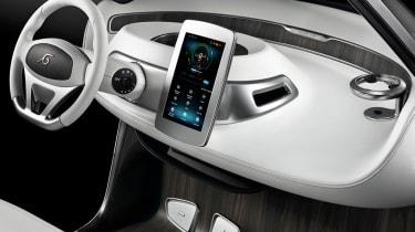 Mercedes Style Edition Garia - interior