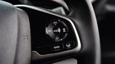 Honda Civic - wheel controls