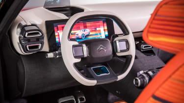 Citroen Aircross concept - steering wheel