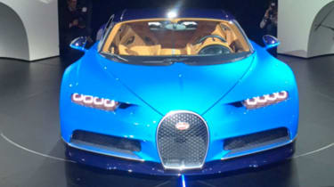 Bugatti Chiron debuts at Geneva