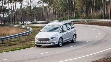 Ford Galaxy AWD - front cornering