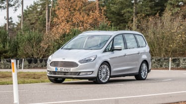 Ford Galaxy AWD - front action