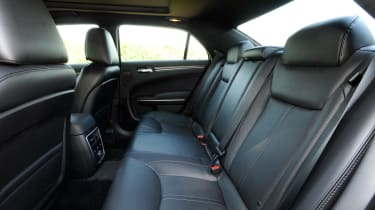 Chrysler 300C rear seats