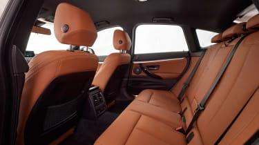 BMW 340i GT - rear seats