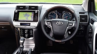Toyota Land Cruiser - dash