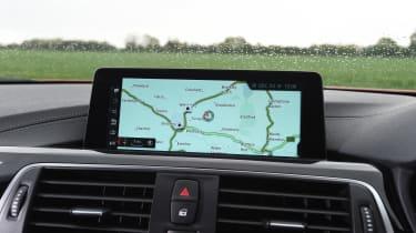 BMW M4 - infotainment