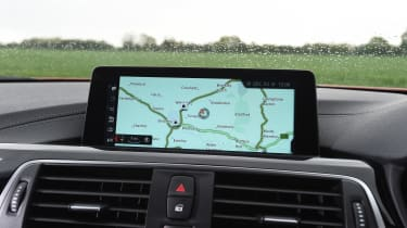 BMW M4 - infotainment