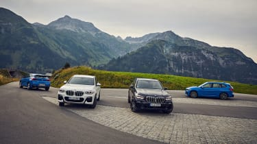 BMW X1 and X2 PHEV - group static