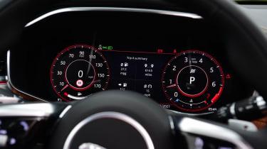Jaguar XF facelift - dials