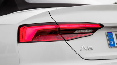 Audi A5 Cabriolet - rear light detail
