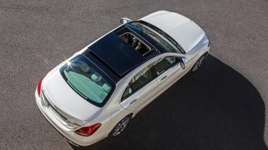 Mercedes C200 BlueTec roof