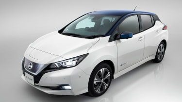 New Nissan Leaf - above