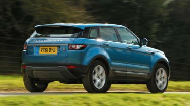 Range Rover Evoque 2WD rear tracking