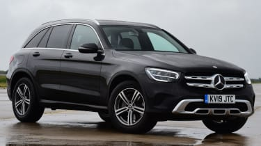 Mercedes GLC 220 d  - front 3/4 static