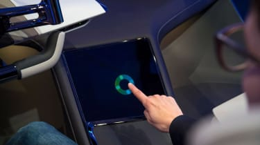 BMW HoloActive touch concept - touchscreen