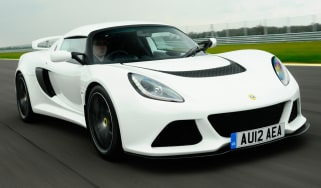 Lotus Exige S front tracking