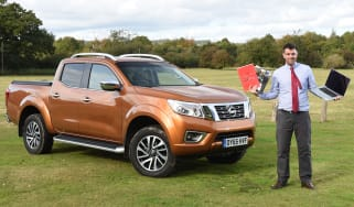 Nissan Navara long-term - third report header