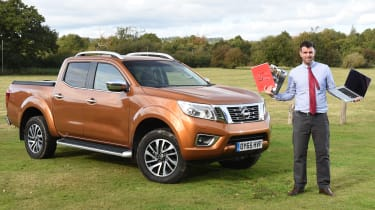 Nissan Navara long-term - third report header