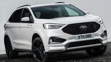 Ford Edge facelift 2018 nose