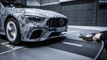 Mercedes-AMG GT four door wind tunnel front