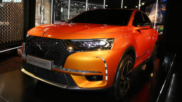 DS 7 Crossback Geneva show - front