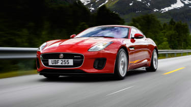 Jaguar F-Type 4-cyl review - front