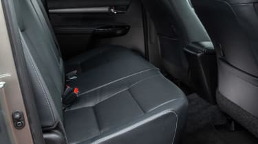 Toyota Hilux - rear seats