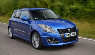 Suzuki Swift Sport five-door front tracking