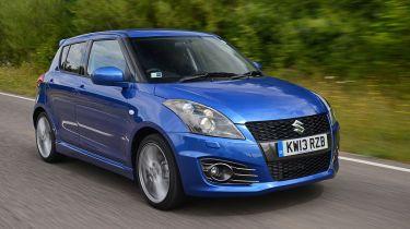 Suzuki Swift Sport five-door front tracking