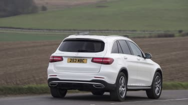 Mercedes GLC 250d 2016 - rear cornering