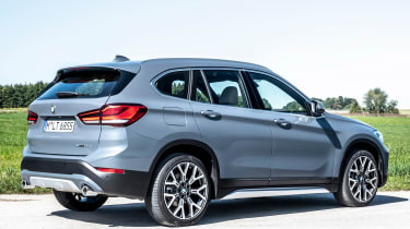 BMW X1 review - rear static