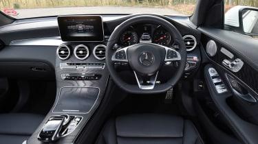 Mercedes GLC 350d - dash