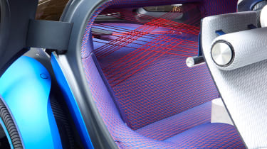 Citroen 19_19 Concept - rear seats detail