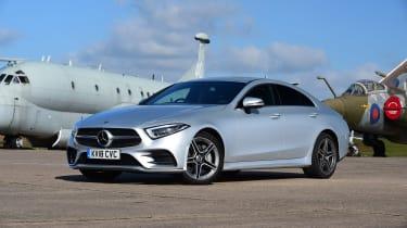 Mercedes CLS - front static
