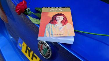 Long term review - Alfa Romeo Giulia - book and rose