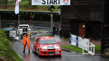 Mitsubishi's 100th year celebration - racing start