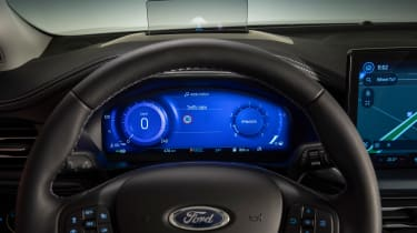 Ford Focus facelift - interior