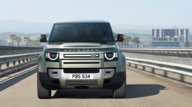 2019 Land Rover Defender front end