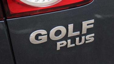 Volkswagen Golf Plus badge