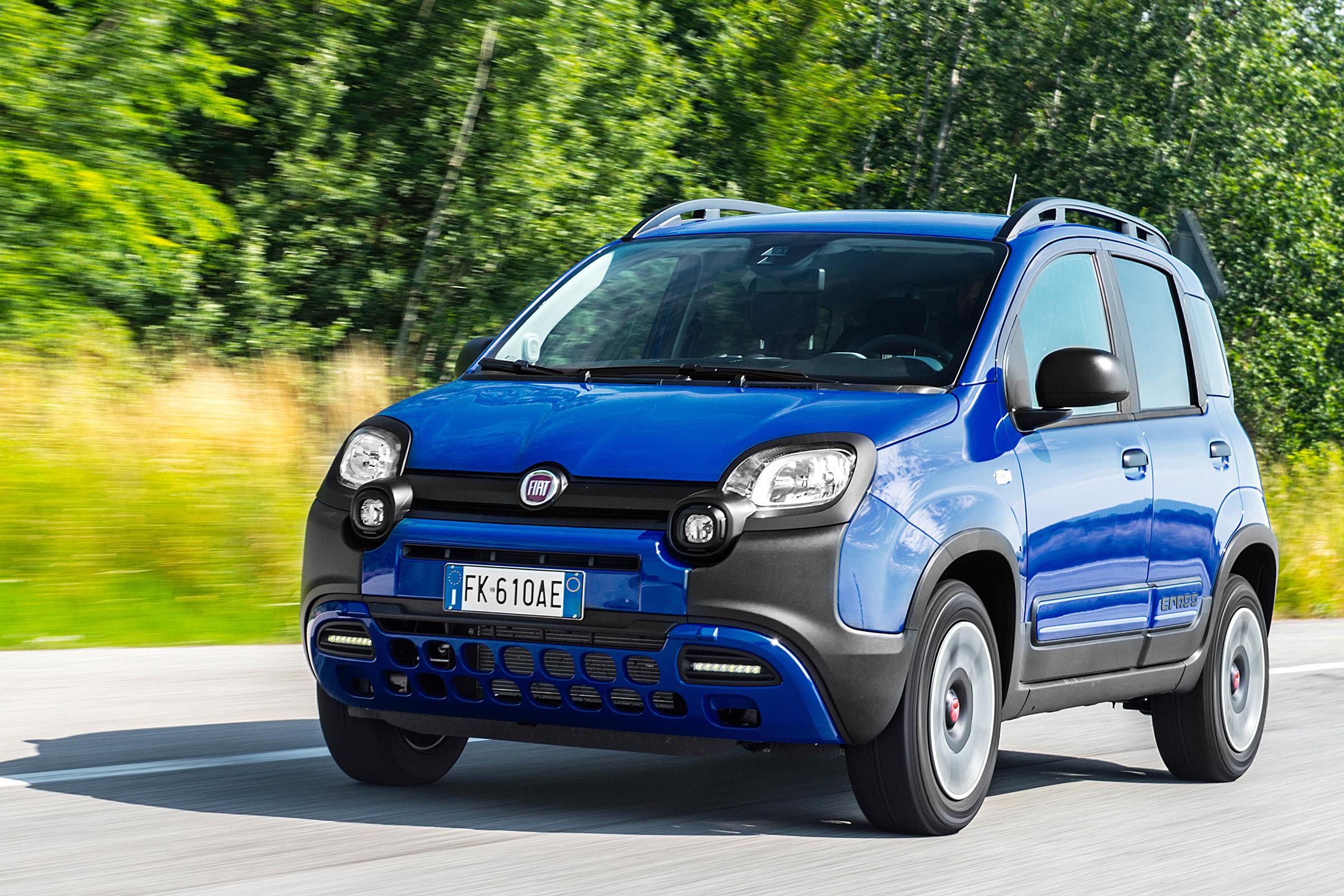 Fiat Unleashes Front Wheel Drive Panda City Cross Auto Express