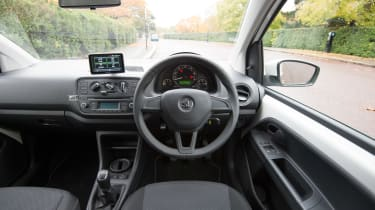 Skoda Citigo Black Edition interior