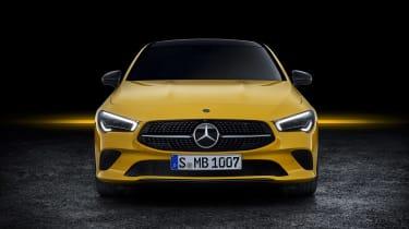 Mercedes CLA Shooting Brake - studio full front