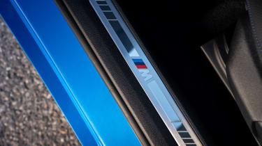 BMW 118i - door sill