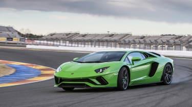 Lamborghini Aventador S - drifting
