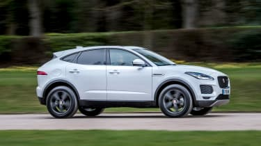Jaguar E-Pace D150 - side action