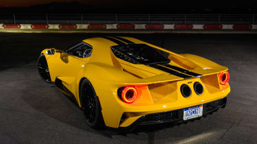 Ford GT - rear static night