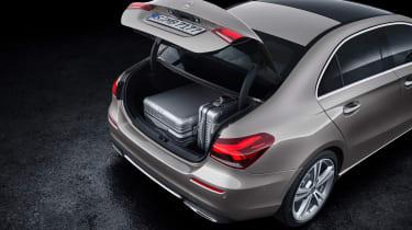 Mercedes A-Class Saloon - boot