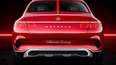 Vision Mercedes-Maybach SUV - studio full rear