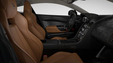 Aston Martin V12 Vantage S Spitfire 80 - interior